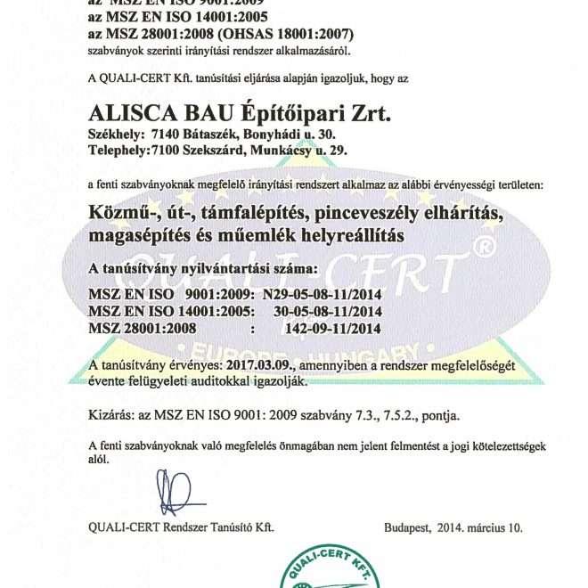 2014.05.10. ISO Tanúsítvány magyar-1