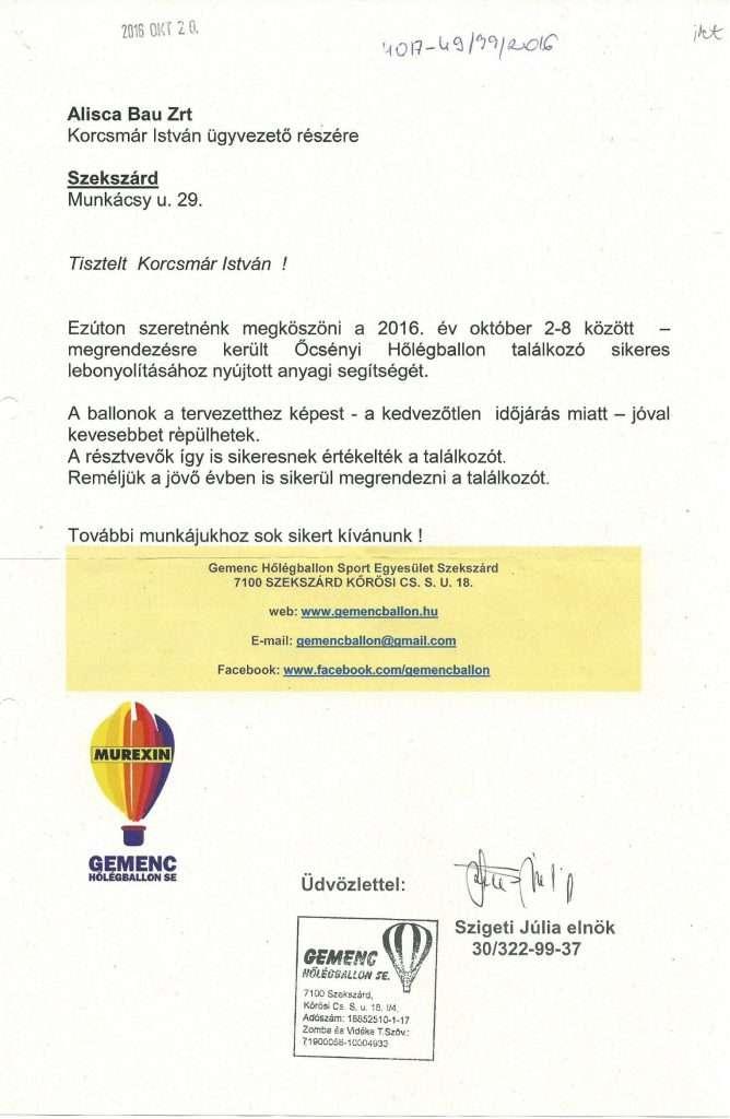2016.10.20. Őcsényi Hőlégballon Találkozó-1